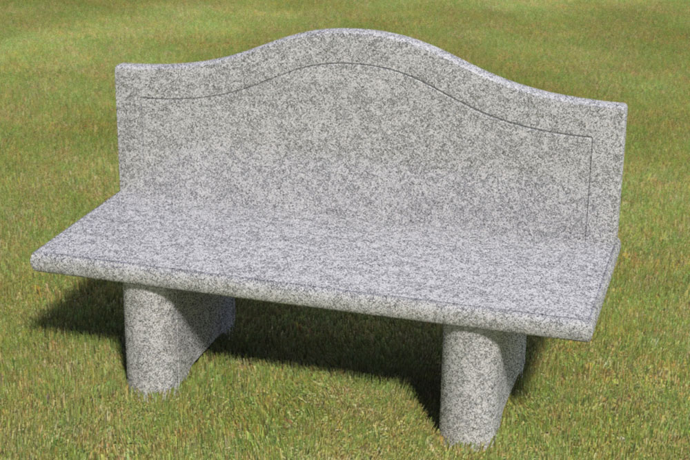 Brilliant Granite Bench Bms0012 Burlingham Memorial Solutions Ibusinesslaw Wood Chair Design Ideas Ibusinesslaworg